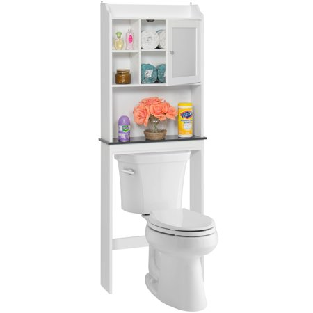 Best Choice Products Modern Contemporary Over The Toilet Space Saver