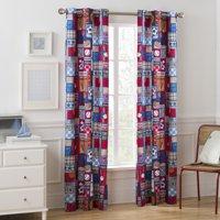 Mainstays Grommet Room Darkening Sports Patch Boy's Bedroom Curtain Panel
