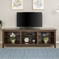 """70"""" Wood TV Media Storage Stand for TV's up to 75"""", Multiple Finishes"""