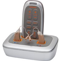 Vizara Hearing Aid System   Premium Hearing Aid Device with Recharging Station   Right, Left & Pair  
