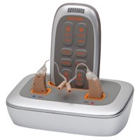 Vizara Hearing Aid System | Premium Hearing Aid Device with Recharging Station | Right, Left & Pair |
