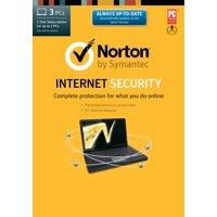 Symantec Norton Internet Security 2013 - 3 Computers, 1 Year Subscription (PC)
