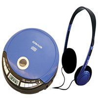 Craig Personal CD Player with Headphones and LCD Screen