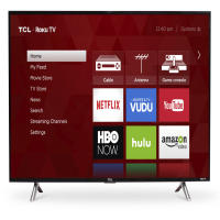 "TCL 43"" Class FHD (1080P) Roku Smart LED TV (43S305)"