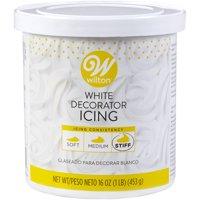Wilton Stiff Decorator Icing, White, 16oz