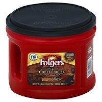 Folgers Coffeehouse Blend Ground Coffee, Medium-Dark Roast, 25.40-Ounce
