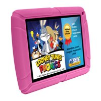 "HighQ Learning Tab Jr. 7"" Kids Tablet, 8GB Storage, Expandable Storage, Quad-Core Processor, Front Facing and Rear Camera, Pink"