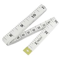 "60"" Inch/Metric Tape Measure Tailor Sewing Cloth Ruler Green/Blue/White"