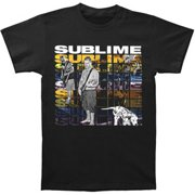 5c2aed870 Sublime Men's Multi Logo With Dog Slim Fit T-shirt Black