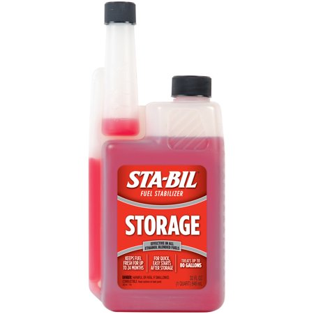 STA-BIL (22214) Storage Fuel Stabilizer for All Gasoline Engines, 32 fl oz