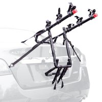 Allen Sports Deluxe 3-Bicycle Trunk Mounted Bike Rack Carrier, 103DN