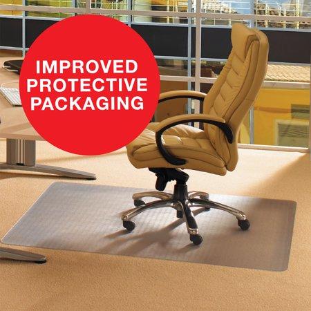 cleartex advantagemat chair mat for low pile carpets 1 4 or less rh walmart com Office Chair Mats for Carpet Walmart Large Chair Mats for Carpet