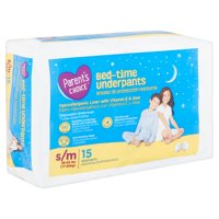 Parent's Choice Nighttime Underpants S/M 45-65 lbs, 15 count