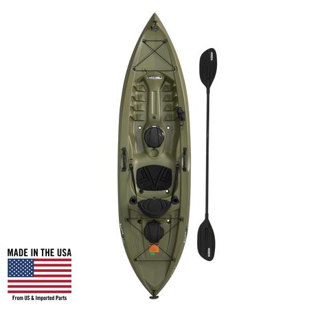 Lifetime Tamarack Angler 100 Fishing Kayak (Paddle Included),