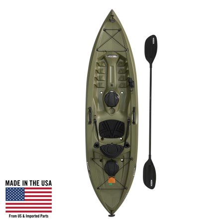 Lifetime Tamarack Angler 100 Fishing Kayak (Paddle Included), 90818 2 Person Travel Kayak