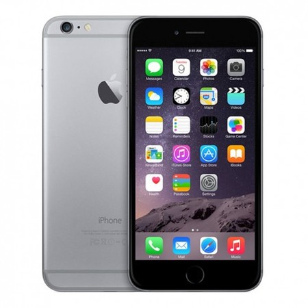 Refurbished Apple iPhone 6 64GB, Space Gray -