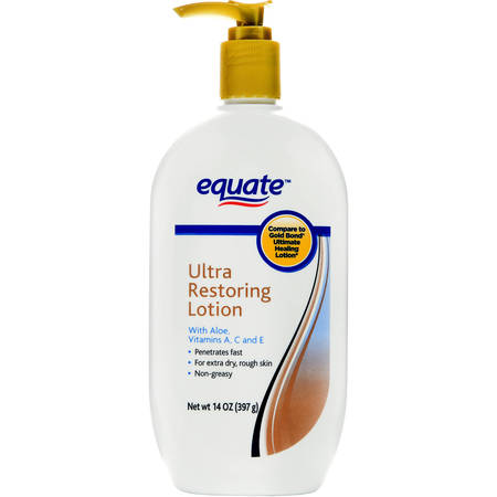 Equate Beauty Ultra Restoring Skin Therapy Lotion, 14 (Best Equate Banana Boat Lotion For Kids)