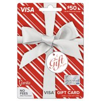 Vanilla Visa Metallic Pattern $50