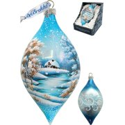 G Debrekht Winterland Drop Ornament
