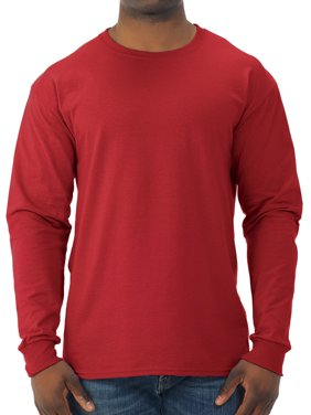 Men's Dri-Power Long Sleeve Crewneck T Shirt