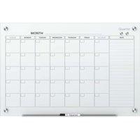 Quartet, QRTGC4836F, Infinity™ Glass Magnetic Calendar Board, 1 Each, White