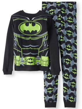 Batman Boys' Thermal 2-Piece Pajama Set
