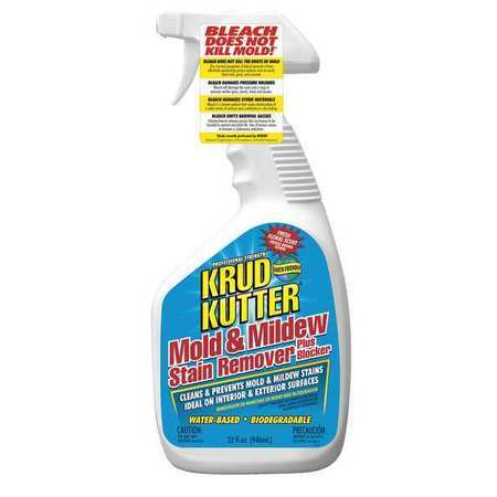 KRUD KUTTER MS324 Mold and Mildew Stain Remover, 32