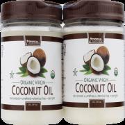 (2 Pack) Tropical Plantation Organic Coconut Oil, 72 Oz