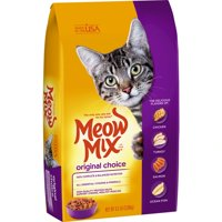 Meow Mix Original Choice Dry Cat Food, 6.3 lb