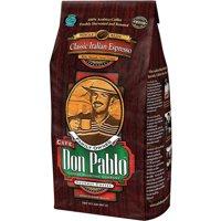 Cafe Don Pablo Classic Italian Espresso Dark Roast Whole Bean Coffee 2LB