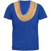 Gold Chains Blue Youth T-Shirt