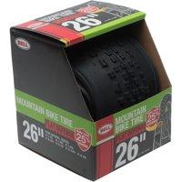 "Bell Sports Flat Defense Mountain Bike Tire, 26"" 1.75-2.25"", Black"