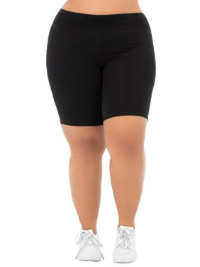 Women's Plus Size Active Bike Short