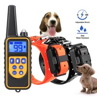 Ownpets Dog Shock Collar With Remote Waterproof Electric For Large 875 Yard Pet Training