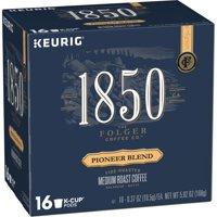 1850 Pioneer Blend, Medium Roast Coffee, K-Cup Pods for Keurig Brewers, 16-Count