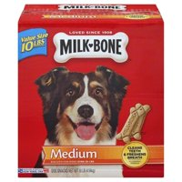 Milk-Bone Original Dog Biscuits for Medium-sized Dogs, 10-Pound