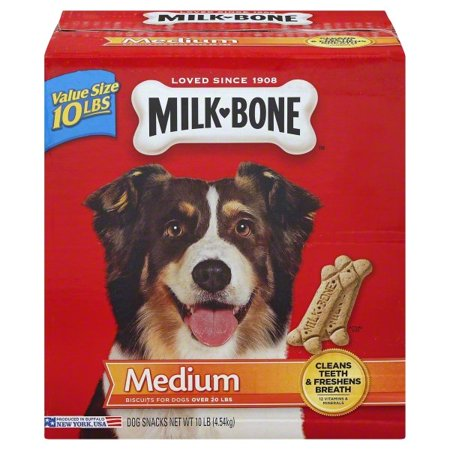Healthy Baker Dog Biscuits (Milk-Bone Original Dog Biscuits for Medium-sized Dogs,)