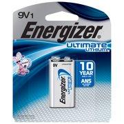 Energizer Ultimate Lithium 9V Batteries, 1- Pack