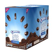 Oreo Thins Bites Fudge Dipped Original Creme, 13.6 Oz