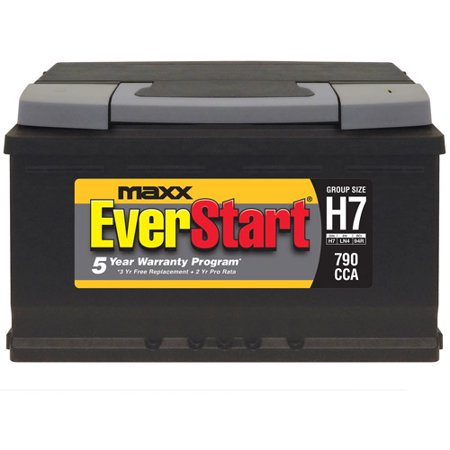 Everstart Maxx Lead Acid Automotive Battery Group H7 Walmart Com