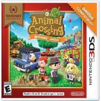 Nintendo Selects: Animal Crossing New Leaf Welcome Amiibo(no Amiibo Card), Nintendo, Nintendo 3DS, 045496744458