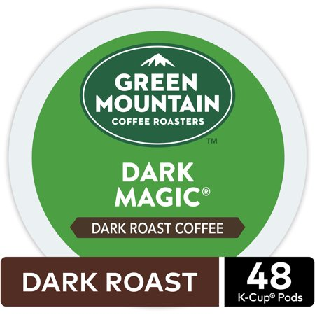 - Green Mountain Coffee Dark Magic, Keurig K-Cup Pod, Dark Roast, 48 Ct