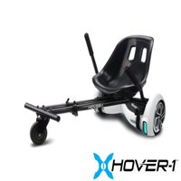 Hover-1 Kart Attachment for Electric Hoverboard, Transform Your Hoverboard into Kart - Black