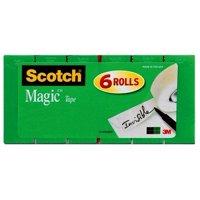 Scotch Magic Tape 6 Pack, 3/4 in. x 800 in., 6 Boxes/Pack