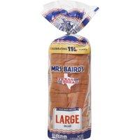Mrs Baird's Large White Bread, 20 oz