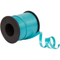 Curling Ribbon, Teal, 100 yd, 1ct