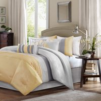 Home Essence Salem 7 Piece Pieced Bedding Comforter Set