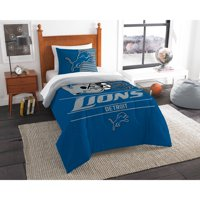 "NFL Detroit Lions ""Draft"" Bedding Comforter Set"