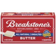 Breakstone's All Natural Unsalted Butter, 8 oz, 2 ct