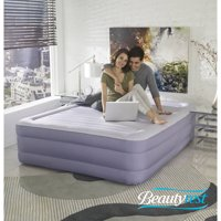 Simmons Beautyrest Fusion Aire with Internal Pump Raised Air Mattress, Queen 18 Inch
